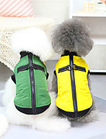 cheap -pet clothes dog clothes autumn and winter clothes bullfight coat teddy small dog pet clothes 21 pull button cotton vest