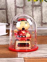 cheap -Solar Nodding Doll Master Indoor Desktop Ornaments Beckon Car Ornaments