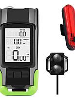 cheap -LED Bike Light Rechargeable Bike Light Set Front Bike Light Bike Horn Light LED Bicycle Cycling Waterproof Super Bright Professional Lightweight Rechargeable Li-Ion Battery 800 lm Rechargeable Battery