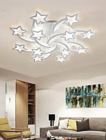 cheap -LED Ceiling Light 90 cm Dimmable Flush Mount Lights Metal Layered Modern Style Stylish Painted Finishes LED 220-240V