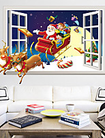cheap -Christmas Starry Sky Wall Stickers Bedroom Living Room Removable Pre-pasted PVC Home Decoration Wall Decal 1pc