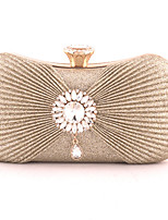 cheap -Women's Bags Clutch Evening Bag Evening Party Formal Date Silver Black Apricot