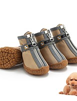 cheap -2021 new dog shoes pet shoes teddy vip french fighting small dog puppy shoes waterproof and breathable wear-resistant manufacturers