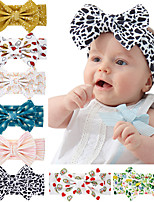 cheap -8 pcs/set Children's Bow Headband  Children's Jewelry Wholesale Baby Bow Headband