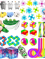 cheap -Finger Toy Squeeze Toy / Sensory Toy Sensory Fidget Toy Stress Reliever 35 pcs Portable Gift DIY For Kid's Adults' Women Boys and Girls Christmas Gifts Party Outdoor Halloween Prizes