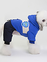 cheap -pet clothes dog clothes pet clothes autumn and winter new spot 18 european and american wind and snow coat