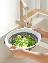 cheap -creative household folding drainage basket multifunctional kitchen silicone drainage basket vegetable and fruit drainage storage basket