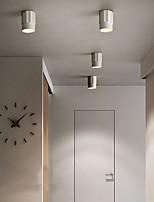 cheap -8.5 cm Geometric Shapes Flush Mount Ceiling Light Metal Modern Style Geometrical Painted Finishes LED Modern 220-240V