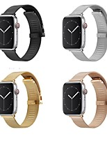 cheap -Smart Watch Band for Apple iWatch 1 pcs Milanese Loop Stainless Steel Replacement  Wrist Strap for Apple Watch Series 7 / SE / 6/5/4/3/2/1