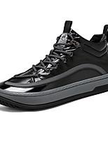 cheap -Men's Sneakers Business Casual Classic Daily PU Gray Black Fall Winter