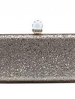 cheap -Women's Bags Polyester Evening Bag Sequin Chain Party / Evening Daily Evening Bag Chain Bag Gold