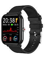 cheap -Q19 Smartwatch Fitness Running Watch Bluetooth Temperature Monitoring Sleep Tracker Heart Rate Monitor Message Reminder Call Reminder Camera Control IP68 45mm Watch Case for Android iOS Men Women