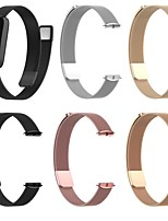 cheap -Smart Watch Band for Fitbit 1 pcs Milanese Loop Stainless Steel Replacement  Wrist Strap for Fitbit Luxe