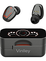 cheap -Wireless Earbuds Bluetooth 5.0 Earphones IPX7 Bluetooth Sports Earphones Rotating Design Headphones with Charging Case LED Battery Display Dual Bass Built-in Microphones Wireless Headphones