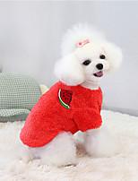 cheap -pet clothes dog clothes cat clothes autumn and winter new warm pomeranian teddy bichon