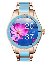 cheap -Z73 Smartwatch Fitness Running Watch Bluetooth Sleep Tracker Heart Rate Monitor Sedentary Reminder Hands-Free Calls Message Reminder Step Tracker IP 67 36mm Watch Case for Android iOS Women