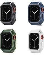 cheap -Cases For Apple iWatch Apple Watch Series 6 / SE / 5/4 44mm / Apple Watch Series  6 / SE / 5/4 40mm TPU Screen Protector Smart Watch Case Compatibility 40mm 44mm