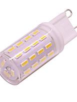 cheap -10pcs 4pcs 1pc 3 W LED Bi-pin Lights 300 lm G9 63 LED Beads SMD 4014 Dimmable Warm White White 12 V