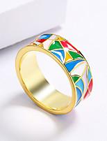 cheap -Women Ring Fancy Rainbow Brass Rainbow Artistic Fashion Vintage 1pc / Women's / Party