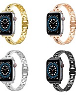 cheap -Smart Watch Band for Apple iWatch 1 pcs Jewelry Design Zinc alloy Replacement  Wrist Strap for Apple Watch Series 7 / SE / 6/5/4/3/2/1
