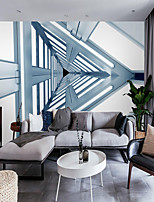 cheap -Mural Wallpaper Wall Sticker Covering Print  Peel and Stick  Removable Self Adhesive Three-dimensional Triangle Geometry   Abstract 3D Home Decoration PVC / Vinyl Home Decor
