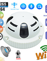 cheap -5MP 4MP 3MP 1080P Wifi Audio Stealth Camouflage Mini Dome IP Camera ONVIF H.264 H265 CCTV P2P Android IOS Smoke Anti-theft in Families Two-way Audio Voice Call the Police Camhi