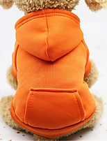cheap -Dog Dog clothes Simple Graphic Winter Dog Clothes Puppy Clothes Dog Outfits Warm 1 2 3 Costume for Girl and Boy Dog Cotton Blend S M L XL XXL