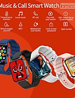 cheap -MX7 Smartwatch Fitness Running Watch Bluetooth Sleep Tracker Heart Rate Monitor Sedentary Reminder Hands-Free Calls Message Reminder Call Reminder IP68 37mm Watch Case for Android iOS Men Women