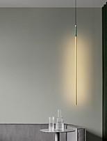 cheap -1.5 cm Wire Design Pendant Light LED Copper Cylinder Island Brass Artistic 220-240V
