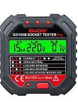cheap -GVDA Socket Outlet Tester Voltage Detector Electric Circuit Breaker Finder Ground Zero Line US EU UK Plug Polarity Phase Check