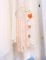 cheap -Gilt years sun and moon flowers dream catcher home decoration pendant wall hanging wall decoration pastoral style decoration dream catcher
