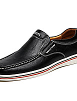 cheap -Men's Loafers & Slip-Ons Business Casual Classic Daily PU Blue Black Brown Fall Winter