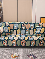cheap -Cartoon Bear Print Dustproof All-powerful Slipcovers Stretch Sofa Cover Super Soft Fabric Couch Cover with One Free Boster Case(Chair/Love Seat/3 Seats/4 Seats)
