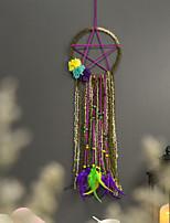 cheap -Five-pointed star Dream catcher Home decor Indian style dream catcher pendant flower dream catcher wall hanging
