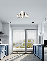 cheap -30 cm  Lantern Design Flush Mount Ceiling Lights LED Metal Painted Finishes Modern 220-240V