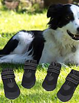 cheap -cross-border pet supplies new dog shoes luminous waterproof husky golden retriever bichon pet shoes factory direct sales