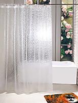 cheap -EVA material 3D Shower Curtain 180cm*180cm Party Mat 40*60cm