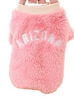 cheap -autumn and winter pet clothes puppy dog clothing small dog clothes two-legged fleece teddy bichon