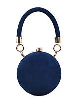 cheap -Women's Retro Frosted Ball Evening Bag Clutch Top Handle Bag Wide Shoulder Strap Messenger Dinner Bag