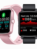 cheap -Mosi Ptone Smartwatch Fitness  Bluetooth Pedometer Heart Rate Monitor Sedentary Reminder  Media Control Message Reminder Watch Case for Android iOS