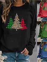 cheap -Movie / TV Theme Costumes Costume Ugly Christmas Sweater / Sweatshirt Adults' Women's Christmas Festival Christmas Festival / Holiday Elastane Black / Orange Women's Easy Carnival Costumes Holiday