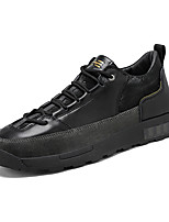 cheap -Men's Sneakers Business Casual Classic Daily Faux Leather Black Fall Winter