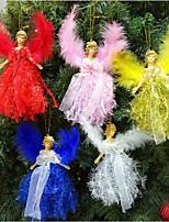 cheap -2021 Christmas Angel Doll Merry Navidad Christmas Decorations for Home Cristmas Ornament Xmas Natal 2022 New Year Home Decor