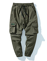 cheap -Men's Work Pants Tactical Cargo Pants Hiking Pants Trousers Outdoor Thermal Warm Windproof Breathable Lightweight Bottoms Grey Black Army Green Fishing Climbing Running M L XL 2XL 3XL