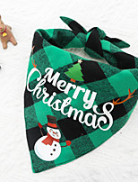 cheap -Dog Cat Triangle Bibs Accessories Casual Classic Dog Clothes Puppy Clothes Dog Outfits Adjustable 1 2 3 Costume for Girl and Boy Dog Fabric