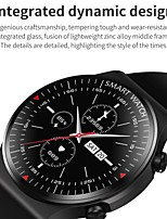 cheap -AW11 Smartwatch Fitness Running Watch Bluetooth Sleep Tracker Heart Rate Monitor Sedentary Reminder Long Standby Message Reminder Call Reminder IP 67 46mm Watch Case for Android iOS Men Women
