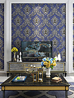 cheap -Wallpaper Wall Covering Sticker Film Damask Retro Luxurious Non Woven Home Decor 53*1000cm