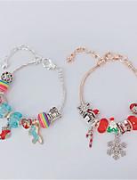 cheap -Women's Multicolor Charm Bracelet Bracelet Geometrical Mini Stylish European Earrings Jewelry Multicolor / Rainbow For Christmas Party Halloween Gift Daily 2pcs