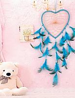 cheap -Feather pendant Dream catcher wall decoration heart pendant creative ethnic decoration