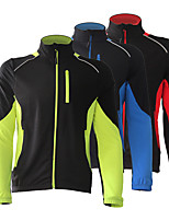 cheap -Men's Cycling Jacket Winter Bike Top Quick Dry Moisture Wicking Sports Patchwork Black / Red / Black / Green / Black / Blue Clothing Apparel Bike Wear / Long Sleeve / Micro-elastic / Athleisure